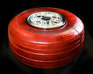 747 Wheel Table with Tyre