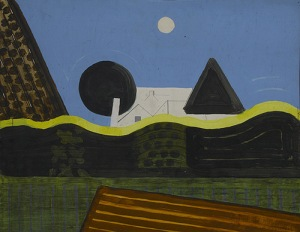 Abstract Landscape Acomb - 1975