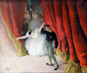 Dame Laura Knight Giselle 1956 Kaye Michie Fine Art