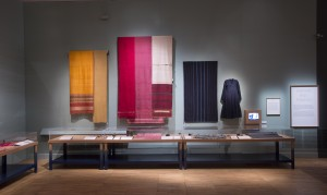 Installation view of The Fabric of India at the VA_ (c) Victoria and Albert Museum
