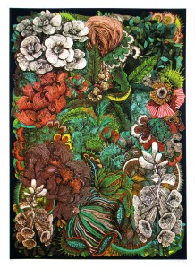 Print Club London, Lucille Clerc, Jungle Book - Wild Flowers