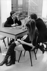Serge Gainsbourg and Jane Birkin,1970 © Herman Selleslags courtesy of 88-Gallery