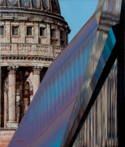 Hugh Beattie, St Paul's v One New Change (courtesy of the artist)