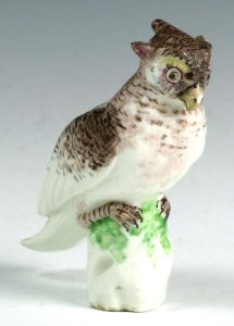 A Mennecy Owl c. 1750-55