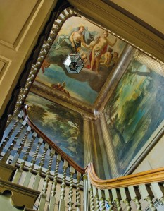 The Painted Staircase, attributed to Sir James Thornhill (1675-1734) CREDIT: CHRISTIE'S IMAGES LTD. 2015