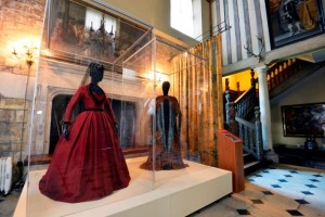 The original costumes standing proud in the historic hall © National Trust / North News Agency