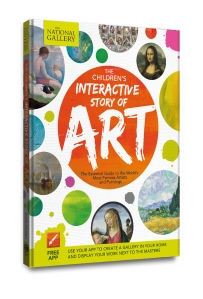 AR interactive story of art