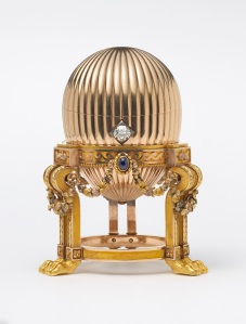 Third Imperial Egg by Carl Fabergé. Recently rediscovered and exhibited at Wartski in 2014