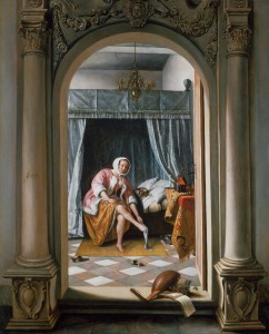 Jan Steen, 'A Woman at her Toilet', 1663 Royal Collection Trust/ (C) Her Majesty Queen Elizabeth II 2015