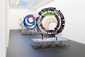 SIMON DENNY: PRODUCTS FOR ORGANISING; INSTALLATION VIEW; SERPENTINE SACKLER GALLERY, 25 NOVEMBER 2015 - 14 FEBRUARY 2016; PHOTOGRAPH © 2015 readsreads.info