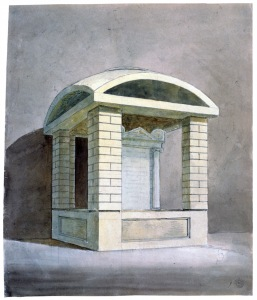 John Soane, Early design for the Soane Family Tomb