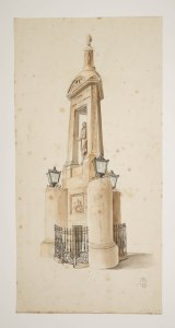 Soane Office, Design for a monument to the Duke of Wellington