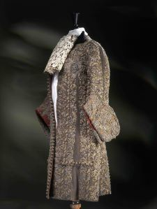Suit worn by James, Duke of York, at his wedding to Mary of Modena, 1673, (c) Victoria and Albert Museum, London