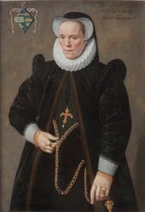 Frans Pourbus the Younger, (1569 – 1622) Caterine van Damme (1541 – 1622), at the age of fifty