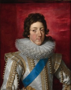 Frans Pourbus the Younger (1569 – 1622) Louis XIII, King of France (1601 - 1643), with the Sash and Badge of the Order of Saint Esprit
