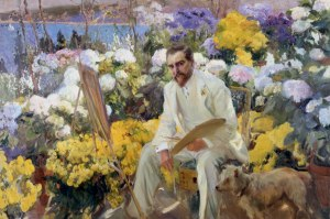 Joaquin Sorolla, Louis Comfort Tiffany, 1911 Oil on canvas, 150 x 225.5 cm On loan from the Hispanic Society of America, New York, NY Photo (c) Courtesy of The Hispanic Society of America, New York