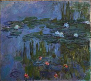 Claude Monet, Nympheas (Waterlilies), 1914-15 Oil on canvas, 160.7 x 180.3 cm Portland Art Museum, Oregon. Museum Purchase: Helen Thurston Ayer Fund, 59.16 Photo (c) Portland Art Museum, Portland, Oregon