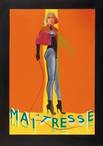 "Allen Jones. ""Maîtresse I (A film by Barbet Schroeder)"", 1978"