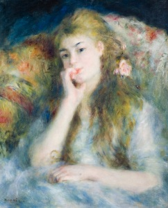 Young Woman Seated, 1876 Pierre-Auguste Renoir (1841-1919) Oil on canvas 66 x 51 cm © The Barber Institute of Fine Arts, University of Birmingham