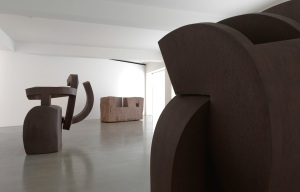 Chillida: Rhythm-Time-Silence installation view, photography by Mike Bruce, Chillida Belzunce Family Collection © Zabalaga-Leku, DACS, London, 2016
