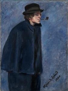 Henrik Lund Portrait of Nikolai Astrup, 1900 Oil on canvas 90 x 68 cm Oslo Museum