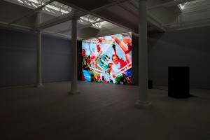 JAMES COLEMAN Untitled, 2011-15 LED Video installation with audio, colour. Photographer: Matthew Hollow Copyright: James Coleman Courtesy of: the artist and Marian Goodman Gallery