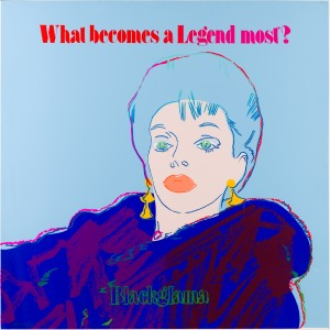Andy Warhol Blackglama (Judy Garland) 1985