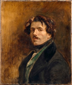 Eugène Delacroix Self Portrait, about 1837 Oil on canvas 65 x 54.5 cm Musée du Louvre, Paris (RF 25) © RMN-Grand Palais (musée du Louvre) / Jean-Gilles Berizzi