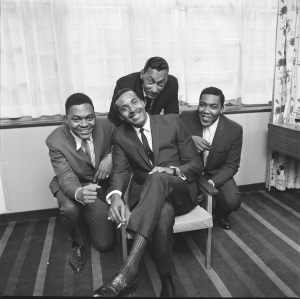 The Four Tops at the Mount Royal Hotel, London 1965 ©Stanley Bielecki/ASP