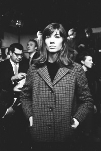 Françoise Hardy taken backstage at Top of the Pops, London 1965. ©Stanley Bielecki/ASP