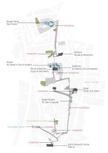 Clerkenwell Design Week Map
