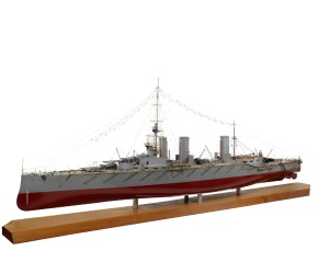 Model of HMS Queen Mary (1912) © National Maritime Museum, London