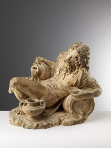 TRINITY FINE ART Exhibition: From Wax to Bronze – Themes and Materials of Sculpture Attributed to the Master of the Unruly Children (16th century Florence) Bacchus Terracotta 95/8 x 111/4 x 8 ¼ in. (24.5 x28.5 x 21cm)