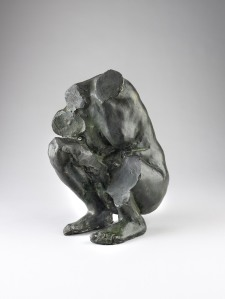 LULLO∙PAMPOULIDES Exhibition: Classicism Reimagined: Master paintings & sculpture 1700-1900 Camille Claudel (1864 –1943) Torso of a Crouching Woman,1887 Bronze, 35 cm. high