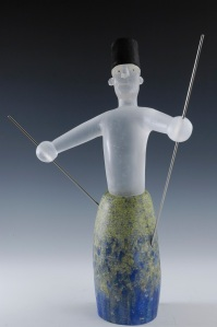 LONDON GLASSBLOWING David Reekie, Marionette V 2013, 52 x 43 x 20 cm,