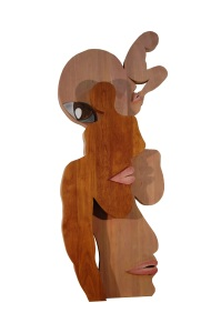 LOVE WOOD GALLERY h.ollary.b. Dreaming the Future Generations, Cherrywood, 2.3m x 0.5m