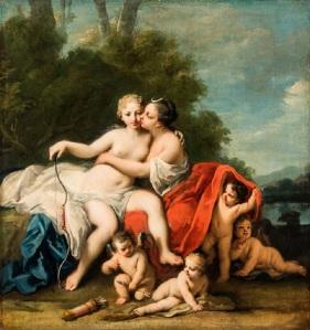 MAURIZIO NOBILE Jacopo Amigoni (1682-1752) Jupiter and Callisto