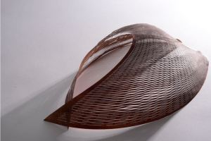 Made in Arts London Motion and Emotion by Kuniko Maeda, foam, plastic and metal wire, 40 x 30 x 15cm