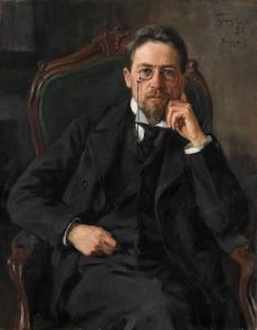 Anton Chekhov by Iosif Braz, 1898 Copyright: State Tretyakov Gallery, Moscow