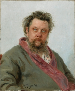 Modest Mussorgsky by Ilia Repin, 1881 Copyright: State Tretyakov Gallery, Moscow