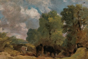 Richard Green Gallery John Constable Landscape with Horses 1810 Courtesy Richard Green