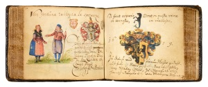 Shapero Rare Books The Album Amicorum of Rhaban Giese, scholar and medical doctor, native of Danzig, drawing on his travels and acquaintances in Geneva, Lyon, Paris and London between 1618 and 1621 Courtesy Shapero Rare Books