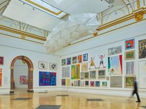 Installation view of the Summer Exhibition 2016 (c) Stephen White