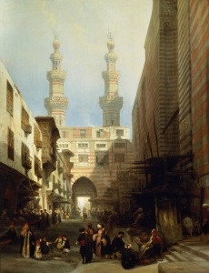 David Roberts, A View of Cairo, 1840 Royal Collection Trust (C) Her Majesty Queen Elizabeth II 2016.