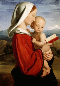 William Dyce, The Madonna and Child, 1845 Royal Collection Trust (C) Her Majesty Queen Elizabeth II 2016.