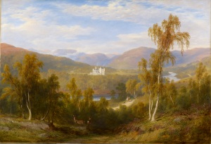 James Giles, A View of Balmoral,1848 Royal Collection Trust (C) Her Majesty Queen Elizabeth II 2016.