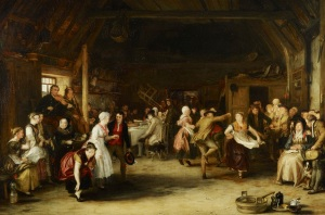 Sir David Wilkie, The Penny Wedding, 1818 Royal Collection Trust (C) Her Majesty Queen Elizabeth II 2016.