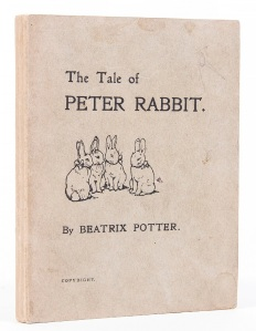 The Tale of Peter Rabbit Reproduction, © Bloomsbury Auctions