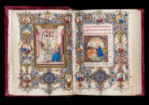 Book of Hours c. 1480 – c. 1490 Illuminated by Vante di Gabriello di Vante Attavanti (active c. 1480 – 1485) Florence, Italy © The Fitzwilliam Museum, Cambridge.