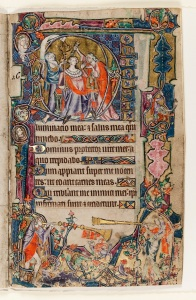 The Macclesfield Psalter c. 1330 – 1340 The Anointing of David East Anglia (probably Norwich), England © The Fitzwilliam Museum, Cambridge.